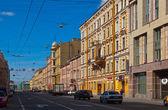 Vista de san petersburgo. gorohovaya street — Foto de Stock