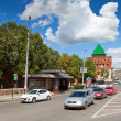 Kremlin street at Nizhny Novgorod  — Stock Photo