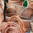 Stock Photo: Baskets for sale