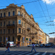 Stock Photo: View of St. Petersburg. MalayMorskaystreet