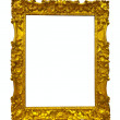 Gold picture frame — Stock Photo #18200129