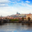 Foto de Stock  : View of Prague. Czechia