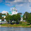 Holy Transfiguration Monastery in Yaroslavl. Russia — Stock Photo