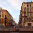 View of St. Petersburg. Embankment of Moyka River — Stock Photo