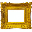 Gold picture frame — Stock Photo #18201687
