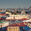 Top view of St. Petersburg — Stock Photo