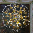Chandelier in interior of Stroganov Palace — Stock Photo