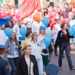 Stock Photo: Carnival procession dedicated 1022 anniversary of Vladimir city