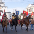 Stock Photo: Pageant dedicated to 1022 anniversary of Vladimir city