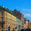 图库照片: View of St. Petersburg. Malaya Morskaya street