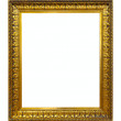 Gold picture frame — Stock Photo #18203413