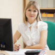 Businesswomworking in office room — Stock Photo #18204037