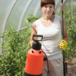 Female gardener — Stock Photo #18204279
