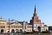 Kazansky Rail Terminal in Moscow — Stock Photo