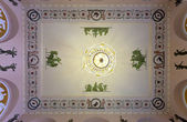 Ceiling in interior of Stroganov Palace — Stock Photo