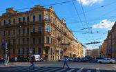 View of St. Petersburg. Malaya Morskaya street — Stock Photo