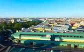 Top view of St. Petersburg — Stock Photo