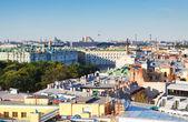 Top view of Saint Petersburg — Stock Photo
