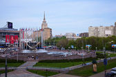 View of Moscow. Square of Europe — Stock Photo