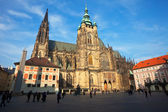 Saint Vitus Cathedral in Prague — Stock Photo