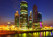 Moscow International Business Center (Moscow-City) — Stock Photo