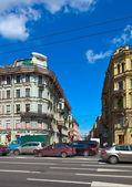 Prospettiva nevsky di san pietroburgo — Foto Stock