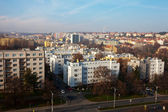 Residential district in Prague — Stock Photo