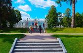 Catherine Palace at Tsarskoye Selo — Stock Photo