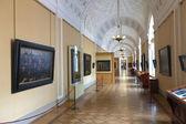 Wnętrze państwa hermitage. sankt petersburg — Zdjęcie stockowe