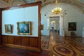 Interior de la ermita del estado. San Petersburgo — Foto de Stock