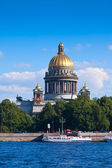 Saint Isaac's Cathedral in St. Petersburg — Stock Photo