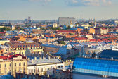 Top view of St. Petersburg, Russia — Stock Photo