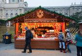 オーストリア、ウィーンのクリスマス マーケット — ストック写真