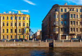 Moika Embankment. Saint Petersburg, Russia — Stock Photo