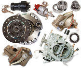 Automotive spare parts — Stock Photo
