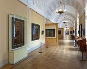 Interieur van staat hermitage. sint-petersburg — Stockfoto