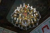 Lustr v interiéru paláce stroganov — Stock fotografie