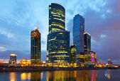 Moscow-city business center, Russia — Stock Photo