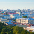 Top view of St. Petersburg — ストック写真