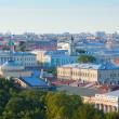 widok z góry z Petersburga — Zdjęcie stockowe