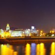 View of Moscow in summer  night — Foto Stock