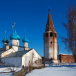 Cathedral  at Gorokhovets in winter. Russia - Stock Photo