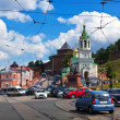 Historic district of Nizhny Novgorod - ストック写真