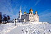 Mariä-entschlafens-kathedrale in vladimir — Stockfoto