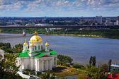 Historic district of Nizhny Novgorod — Stock Photo
