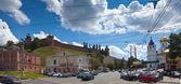 ニジニ ・ ノヴゴロドの歴史的な地区 — ストック写真