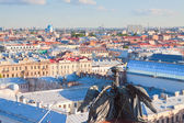 View of city from Saint Isaac's Cathedral — Stock Photo