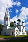 St. Nicholas Church at Yaroslavl in summer — Foto Stock