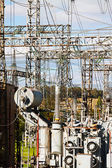 Electric power station — Stock Photo