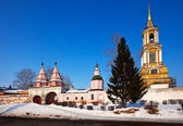 Rizopolozhensky monastery at Suzdal — Stock Photo